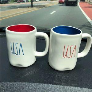 Rae Dunn USA mugs